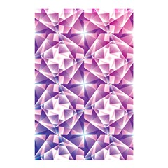 Purple Shatter Geometric Pattern Shower Curtain 48  X 72  (small)  by TanyaDraws