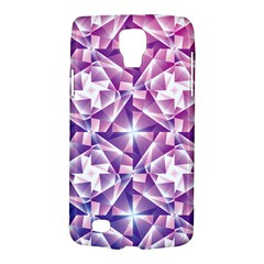 Purple Shatter Geometric Pattern Galaxy S4 Active by TanyaDraws