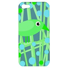 Green Bird Apple Iphone 5 Hardshell Case
