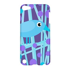 Blue And Purple Bird Apple Ipod Touch 5 Hardshell Case by Valentinaart