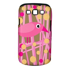 Pink Bird Samsung Galaxy S Iii Classic Hardshell Case (pc+silicone)