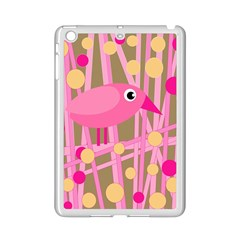 Pink Bird Ipad Mini 2 Enamel Coated Cases by Valentinaart