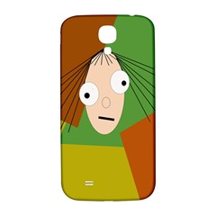Crazy Girl Samsung Galaxy S4 I9500/i9505  Hardshell Back Case by Valentinaart