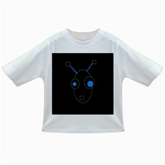 Blue Alien Infant/toddler T Shirts by Valentinaart