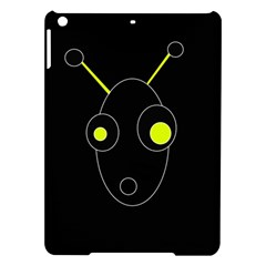 Yellow Alien Ipad Air Hardshell Cases by Valentinaart