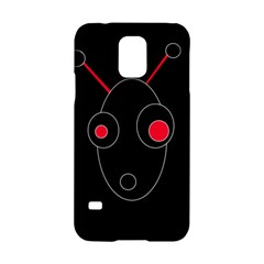 Red Alien Samsung Galaxy S5 Hardshell Case