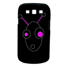 Purple Alien Samsung Galaxy S Iii Classic Hardshell Case (pc+silicone) by Valentinaart