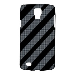 Black And Gray Lines Galaxy S4 Active by Valentinaart