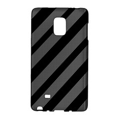 Black And Gray Lines Galaxy Note Edge by Valentinaart