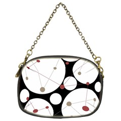 Decorative Circles Chain Purses (two Sides)  by Valentinaart
