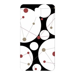 Decorative Circles Samsung Galaxy Note 3 N9005 Hardshell Back Case by Valentinaart