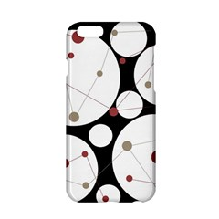 Decorative Circles Apple Iphone 6/6s Hardshell Case by Valentinaart