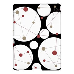 Decorative Circles Samsung Galaxy Tab S (10 5 ) Hardshell Case  by Valentinaart