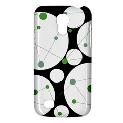 Decorative Circles   Green Galaxy S4 Mini by Valentinaart