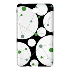 Decorative Circles   Green Samsung Galaxy Tab 4 (8 ) Hardshell Case  by Valentinaart