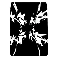 Black And White Pattern Flap Covers (s)  by Valentinaart