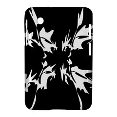 Black And White Pattern Samsung Galaxy Tab 2 (7 ) P3100 Hardshell Case  by Valentinaart