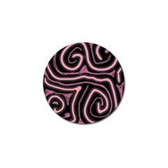 Decorative Lines Golf Ball Marker