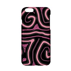 Decorative Lines Apple Iphone 6/6s Hardshell Case by Valentinaart