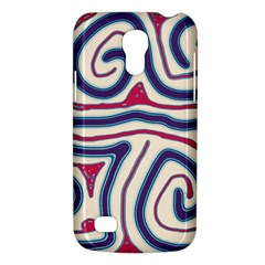 Blue And Red Lines Galaxy S4 Mini by Valentinaart
