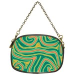 Green and orange lines Chain Purses (One Side)  Front