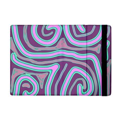 Purple Lines Ipad Mini 2 Flip Cases by Valentinaart