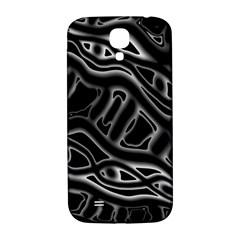 Black And White Decorative Design Samsung Galaxy S4 I9500/i9505  Hardshell Back Case by Valentinaart