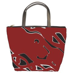 Decorative Abstract Art Bucket Bags
