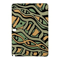 Green Abstract Art Samsung Galaxy Tab Pro 12 2 Hardshell Case by Valentinaart