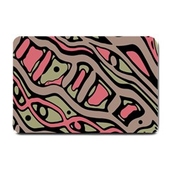 Decorative Abstract Art Small Doormat  by Valentinaart