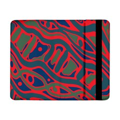 Red And Green Abstract Art Samsung Galaxy Tab Pro 8 4  Flip Case by Valentinaart