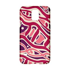 Pink And Purple Abstract Art Samsung Galaxy S5 Hardshell Case  by Valentinaart