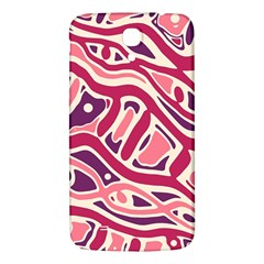Pink And Purple Abstract Art Samsung Galaxy Mega I9200 Hardshell Back Case by Valentinaart