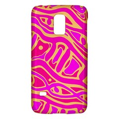 Pink Abstract Art Galaxy S5 Mini by Valentinaart