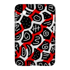 Red Playful Design Samsung Galaxy Tab 2 (7 ) P3100 Hardshell Case
