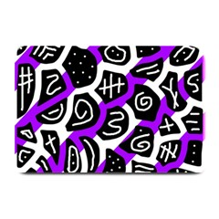 Purple Playful Design Plate Mats by Valentinaart