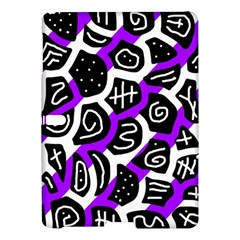 Purple Playful Design Samsung Galaxy Tab S (10 5 ) Hardshell Case  by Valentinaart