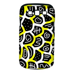 Yellow Playful Design Samsung Galaxy S Iii Classic Hardshell Case (pc+silicone) by Valentinaart