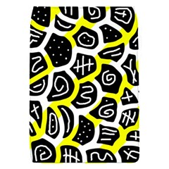 Yellow Playful Design Flap Covers (s)  by Valentinaart