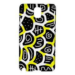 Yellow Playful Design Samsung Galaxy Note 3 N9005 Hardshell Case by Valentinaart