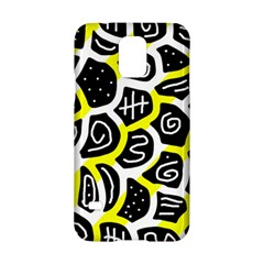 Yellow Playful Design Samsung Galaxy S5 Hardshell Case  by Valentinaart
