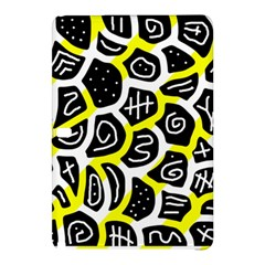 Yellow Playful Design Samsung Galaxy Tab Pro 12 2 Hardshell Case by Valentinaart