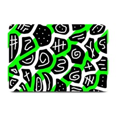 Green Playful Design Plate Mats by Valentinaart