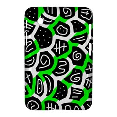 Green Playful Design Samsung Galaxy Tab 2 (7 ) P3100 Hardshell Case  by Valentinaart