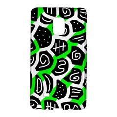 Green Playful Design Galaxy Note Edge by Valentinaart