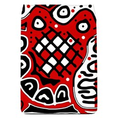 Red High Art Abstraction Flap Covers (s)  by Valentinaart