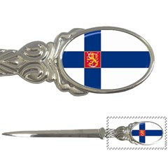 State Flag Of Finland  Letter Openers by abbeyz71