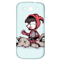 Bad Bitch Red Samsung Galaxy S3 S Iii Classic Hardshell Back Case by lvbart