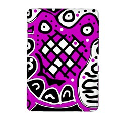 Magenta High Art Abstraction Samsung Galaxy Tab 2 (10 1 ) P5100 Hardshell Case  by Valentinaart