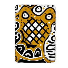 Yellow High Art Abstraction Samsung Galaxy Tab 2 (10 1 ) P5100 Hardshell Case  by Valentinaart